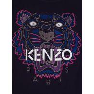 KENZO Kids Navy Embroidered  Tiger Sweatshirt