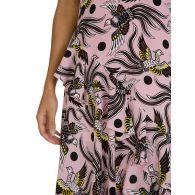 KENZO Pink Silk Print Dress