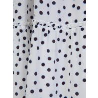 Heidi Klein White Polka Dot Dress