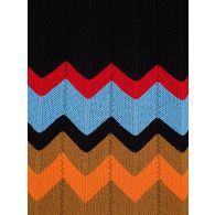 M Missoni Black Knitted Midi Dress