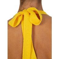Missoni Yellow Tuta Lunga Plunge Jumpsuit