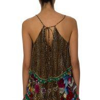 Camilla Brown Jewels of Jupiter Frill Cami Top