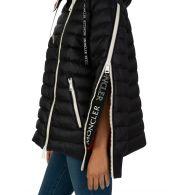 Moncler Black Hooded Stockholm Puffa Jacket