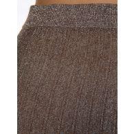 Joseph Beige Glitter Lurex Skirt