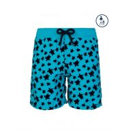 Vilebrequin Junior Turquoise Turtle Swim Shorts