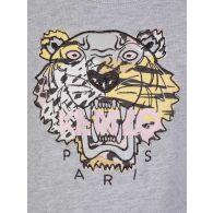 KENZO Kids Grey Tiger Sweatshirt