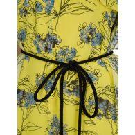 Patrizia Pepe Yellow Flowers Jumpsuit