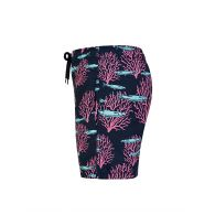 Vilebrequin Junior Blue Marine Print Swim Shorts