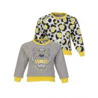 Baby KENZO Kids Grey Reversible Sweatshirt