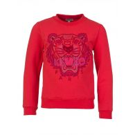 KENZO Kids Orange Tiger Sweatshirt