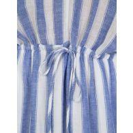 Rails White Pacifica Stripe Kaftan Dress
