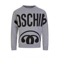 Moschino Kids Grey Milano Logo Sweatshirt