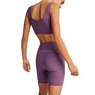 Varley Purple Northfield Sports Shorts