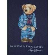 Polo Ralph Lauren Navy Denim Bear T-Shirt