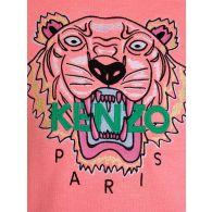 KENZO Kids Pink Tiger Cotton Jumper