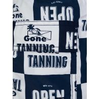 Vilebrequin Junior Navy Gone Tanning Swim Shorts