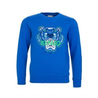 KENZO Kids Blue Tiger Jumper
