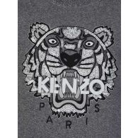 KENZO Kids Grey Sequin Tiger Sweatshirt