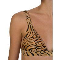 VIX Paula Hermanny Tiger Print Bikini Top