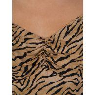 VIX Paula Hermanny Tiger Print Dress
