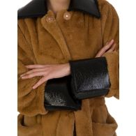Stand Studio Brown Faux Fur Coat