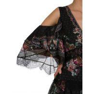 Camilla Black Restless Nights Cold Shoulder Dress