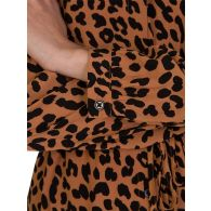 Rails Brown Bella Jaguar Print Dress