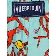 Vilebrequin Junior Turquoise Coral Fish Swim Shorts