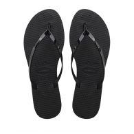 Havaianas Black You Metallic Flip-Flops