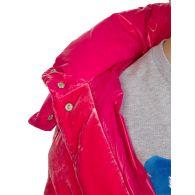 Moncler Pink Velvet Caille Jacket