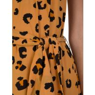 Tigerlily Orange Leilani Leopard Print Maxi Dress