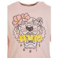 Baby KENZO Kids Pink Tiger Logo Sweatshirt