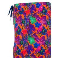 Vilebrequin Junior Orange Floral Swim Shorts