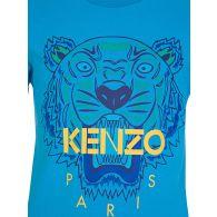 KENZO Kids Blue Tiger T-Shirt