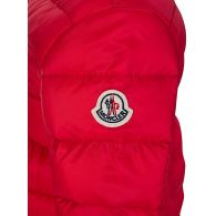 Moncler Enfant Red Down Filled Puffer Jacket