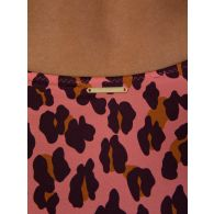 Stella McCartney Pink Leopard Print Swimsuit