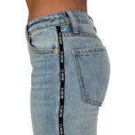 P.E Nation Stone Wash Denim Driver Jeans