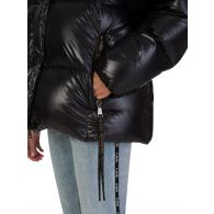 Moncler Black Parana Giubbotto Down Hooded Jacket