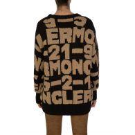 Moncler Black/Brown Maglione Tricot Jumper