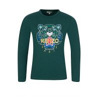 KENZO Kids Green Tiger T-Shirt