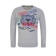 KENZO Kids Grey Super Kenzo Tiger Sweatshirt