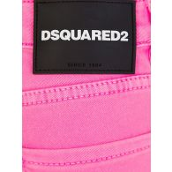 Dsquared2 Kids Pink Denim Shorts