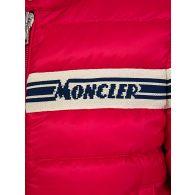Moncler Enfant Red Stripe Puffer Haraiki Jacket
