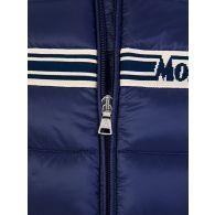 Moncler Enfant Navy Stripe Puffer Renald Jacket