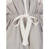 Moncler Grey Belted Jacket