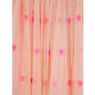 Stella McCartney Kids Pink Hearts Embroidery Tulle Skirt