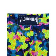 Vilebrequin Yellow Neo Camo Turtles Swim Shorts