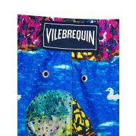 Vilebrequin Blue X Hunt Slonem Swim Shorts