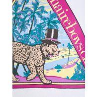 Billionaire Boys Club White Leopard Popover Hoodie