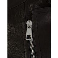 Neil Barrett Black Leather Rider Jacket
